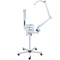 Aroma Ozone Professional Facial Steamer Magnifying Lamp