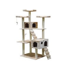 72 inch Cat tree tower condo scratcher house dangling ball
