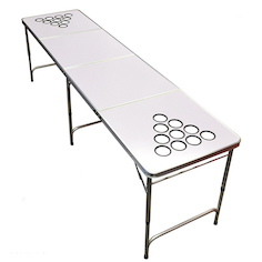 flip cup cheap regulation beer pong table