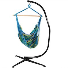 Best Hanging Swing Hammock Chair Steel C Frame Stand Combo