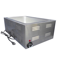 Full Size Steam Tables Electric Countertop Food Warmer Bain Marie