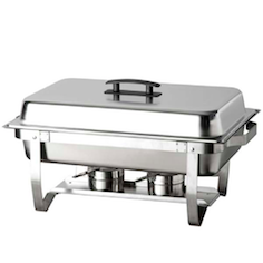 8 Quart Stainless Steel Chafing Dish