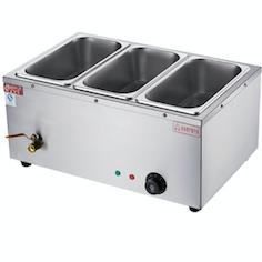Steam Tables Bain Marie Countertop Buffet Food Warmer 3